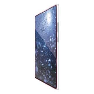 Galaxy Note20 Ultra 5G ガラスフィルム フルカバー 0.33mm ブラック PM-G206FLGGRBK
