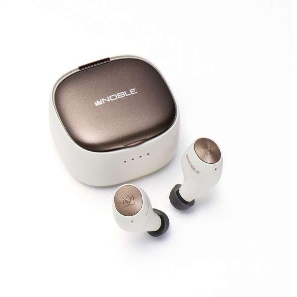 フルワイヤレスイヤホン ホワイト NOB-FALCON2-W [マイク対応 /ワイヤレス(左右分離) /Bluetooth]