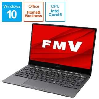 FMVC90E3S ノートパソコン LIFEBOOK CH90/E3(有機EL) ダークシルバー [13.3型 /intel Core i5 /SSD:512GB /メモリ:8GB /2020年冬モデル]