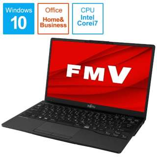 LIFEBOOK UH-X/E3 ピクトブラック FMVUXE3B [13.3型 /intel Core i7 /SSD:1TB /メモリ:8GB /2020年冬モデル]