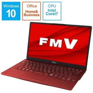 FMVU90E3R LIFEBOOK UH90/E3 ガーネットレッド [13.3型 /intel Core i7 /SSD:512GB /メモリ:8GB /2020年冬モデル]