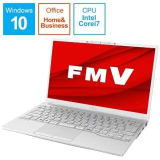 LIFEBOOK UH90/E3 シルバーホワイト FMVU90E3W [13.3型 /intel Core i7 /SSD:512GB /メモリ:8GB /2020年冬モデル]