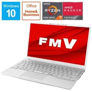 FMVU75E3W ノートパソコン LIFEBOOK UH75/E3 シルバーホワイト [13.3型 /AMD Ryzen 7 /SSD:256GB /メモリ:8GB /2020年冬モデル]