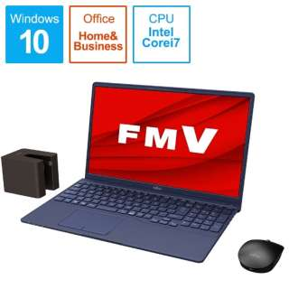 FMVT77E3L ノートパソコン LIFEBOOK TH77/E3 インディゴブルー [15.6型 /intel Core i7 /SSD:512GB /メモリ:8GB /2020年冬モデル]