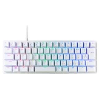 ゲーミングキーボード Huntsman Mini JP - Linear Optical Switch Mercury White RZ03-03391100-R3J1 [USB /有線]