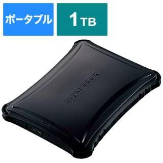 ESD-ZSA1000GBK 外付けSSD USB-A接続 (PS4対応) ブラック [1TB /ポータブル型]