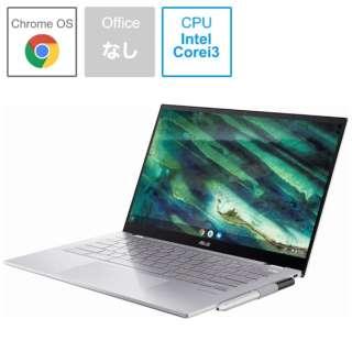 C436FA-E10161 ノートパソコン Chromebook (クロームブック) Flip(コンバーチブル型) エアロジェルホワイト [14.0型 /intel Core i3 /SSD:128GB /メモリ:8GB /2020年10月モデル]