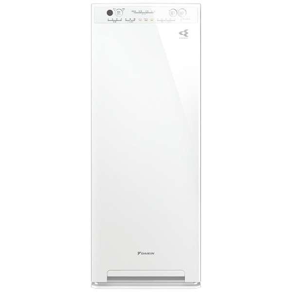 加湿空気清浄機 ホワイト MCK55X-W [適用畳数:25畳 /最大適用畳数(加湿):14畳 /PM2.5対応]