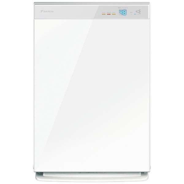 加湿空気清浄機 ホワイト MCK70X-W [適用畳数:31畳 /最大適用畳数(加湿):18畳 /PM2.5対応]