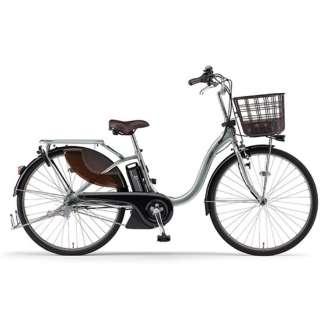 電動アシスト自転車 PAS With ピュアシルバー PA26W [26インチ /3段変速] 【2021年モデル】【組立商品につき返品不可】