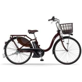 電動アシスト自転車 PAS With カカオ PA26W [26インチ /3段変速] 【2021年モデル】【組立商品につき返品不可】