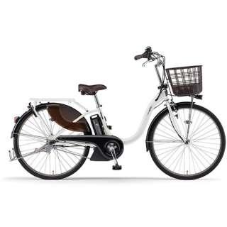 電動アシスト自転車 PAS With ピュアパールホワイト PA26W [26インチ /3段変速] 【2021年モデル】【組立商品につき返品不可】