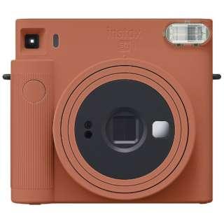 インスタントカメラ 『チェキ』 instax SQUARE SQ1 テラコッタオレンジ
