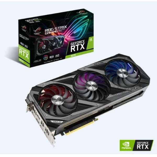 ゲーミンググラフィックボード ROG-STRIX-RTX3070-O8G-GAMING [8GB /GeForce RTXシリーズ]