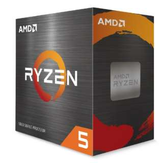 【CPUクーラー付属】AMD Ryzen 5 5600X With Wraith Stealth Cooler (6C/12T3.7GHz65W) 100-100000065BOX