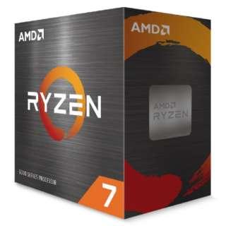 【CPUクーラー別売】AMD Ryzen 7 5800X W/O Cooler (8C/16T3.8GHz105W) 100-100000063WOF