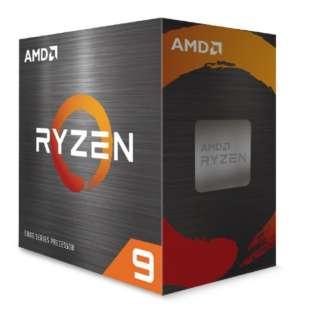 〔CPU〕AMD Ryzen 9 5900X W/O Cooler (12C/24T3.7GHz105W)【CPUクーラー別売】 100-100000061WOF