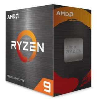 〔CPU〕AMD Ryzen 9 5950X W/O Cooler (16C/32T3.4GHz105W)【CPUクーラー別売】 100-100000059WOF