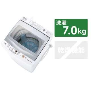 全自動洗濯機 ホワイト AQW-GP70J-W [洗濯7.0kg /乾燥機能無 /上開き]