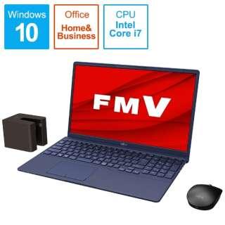 FMVT77E3LB ノートパソコン LIFEBOOK TH77/E3 インディゴブルー [15.6型 /intel Core i7 /Optane:32GB /SSD:512GB /メモリ:8GB /2020年冬モデル]