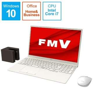 FMVT77E3WB ノートパソコン LIFEBOOK TH77/E3 アイボリーホワイト [15.6型 /intel Core i7 /Optane:32GB /SSD:512GB /メモリ:8GB /2020年冬モデル]