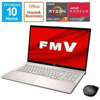 FMVN78E3GB ノートパソコン LIFEBOOK NH78/E3 シャンパンゴールド [17.3型 /AMD Ryzen 7 /SSD:1TB /メモリ:8GB /2021年1月モデル]