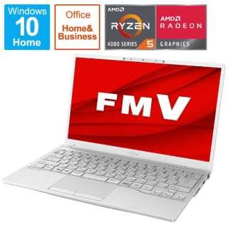 FMVU75E3WB ノートパソコン LIFEBOOK UH75/E3 シルバーホワイト [13.3型 /AMD Ryzen 5 /SSD:512GB /メモリ:8GB /2020年冬モデル]