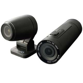 バイク用ドライブレコーダー アクションカメラ MiVue M777D 17101 [Full HD(200万画素)]