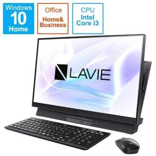 PC-DA400MAB3 デスクトップパソコン LAVIE Desk All in One ファインブラック [23.8型 /intel Core i3 /SSD:512GB /メモリ:8GB /2020年11月モデル]