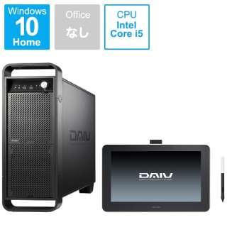 DAWSET104S2M16H デスクトップパソコン DAIV(13.3型 液晶タブレット Wacom One付属) [モニター無し /HDD:1TB /SSD:256GB /メモリ:16GB]