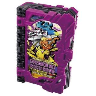 仮面ライダーセイバー DXブレーメンのロックバンドワンダーライドブック