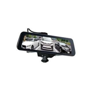 ドライブレコーダー PIXYDA PDR790SM [前後カメラ対応 /Full HD(200万画素) /駐車監視機能付き /ミラー型]