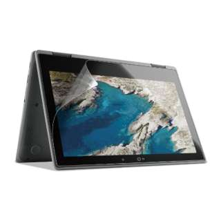 HP Chromebook x360 11 G3 EE用 指紋防止フィルム 反射防止 EF-CBHP02FLST