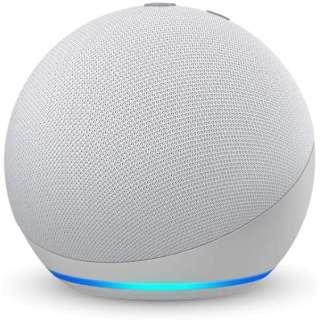 Echo Dot (エコードット) 第4世代 - スマートスピーカー with Alexa グレーシャーホワイト B084KQRCGW [Bluetooth対応 /Wi-Fi対応]