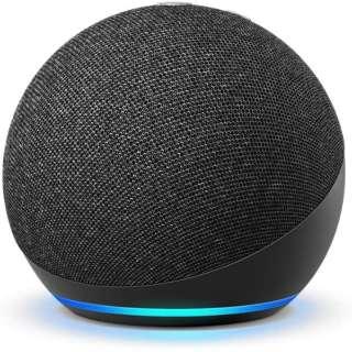 Echo Dot (エコードット) 第4世代 - スマートスピーカー with Alexa チャコール B084DWX1PV [Bluetooth対応 /Wi-Fi対応]