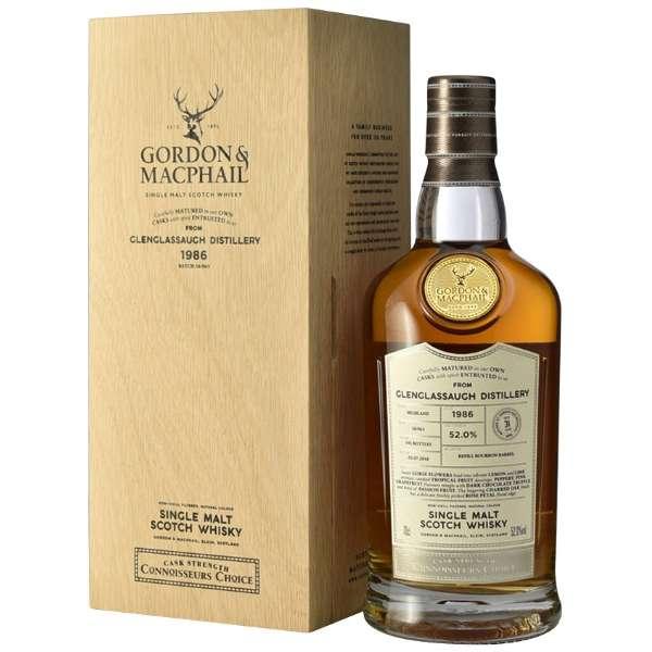 ゴードン&マクファイル コニサーズ・チョイス ウッド・ボックス グレングラッサ 1986 31年 700ml【ウイスキー】