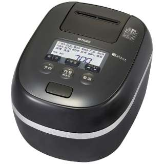 圧力IH炊飯器 炊きたて ご泡火炊き ピュアブラック JPD-G060KP [圧力IH /3.5合]