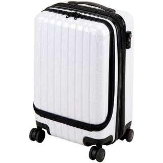 シック キャリーバッグフロントポケット付S(ホワイト) UV-0059