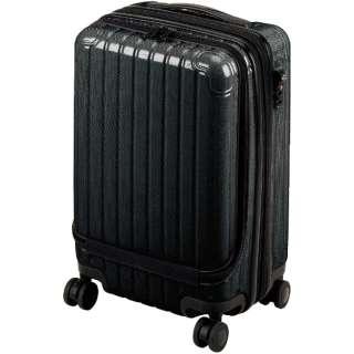 シック キャリーバッグフロントポケット付S(ブラック) UV-0060
