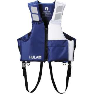 HULA ライフジャケットTypeD L(ネイビー×ホワイト) US-3003