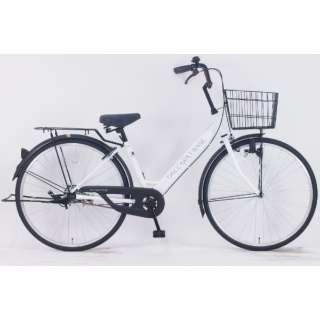 26型 自転車 ダカラットベース(パールホワイト/シングルシフト) FV-B260BA-C【2021年モデル】 【組立商品につき返品不可】