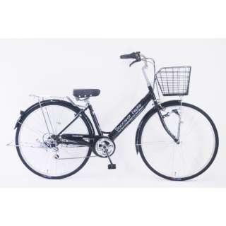 27型 自転車 ダカラットゼフィール(オニキスブラック/外装6段変速) FV_W276BK_HD_BAA_C【2021年モデル】 【組立商品につき返品不可】