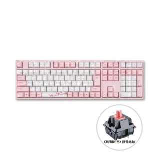 ゲーミングキーボード Sakura 赤軸 vm-va113-wp88j-silentred [有線 /USB]