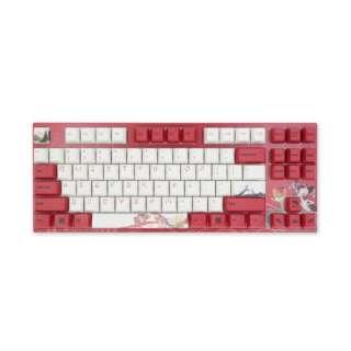ゲーミングキーボード Koi シルバー軸 (英語配列) vm-va87-wr2bngjv-silver [USB /有線]