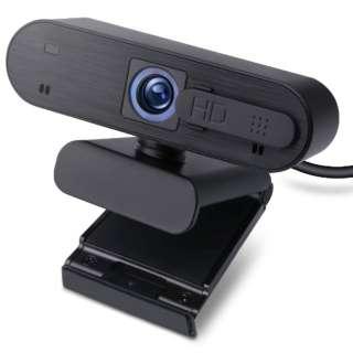 UCAM-C820ABBK ウェブカメラ マイク内蔵 ブラック [有線]