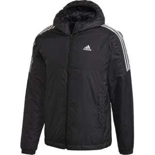 メンズ エッセンシャルズ インサレーテッド フード付きジャケット(Mサイズ/ブラック) IZG09