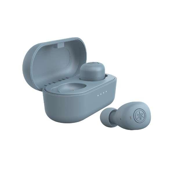 フルワイヤレスイヤホン スモーキーブルー TW-E3BA [リモコン・マイク対応 /ワイヤレス(左右分離) /Bluetooth]