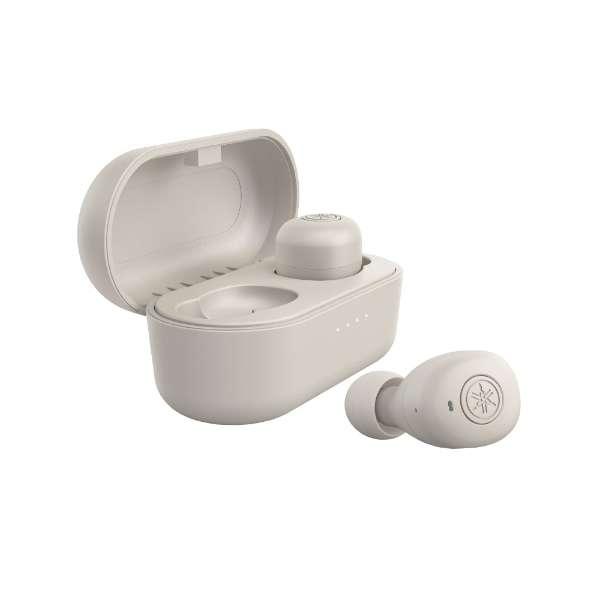 フルワイヤレスイヤホン グレー TW-E3BH [リモコン・マイク対応 /ワイヤレス(左右分離) /Bluetooth]