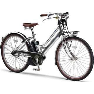 電動アシスト自転車 PAS mina ミラーシルバー PA26M [26インチ /3段変速] 【2021年モデル】【組立商品につき返品不可】