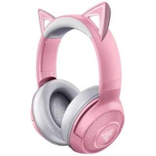 RZ04-03520100-R3M1 ゲーミングヘッドセット Kraken BT Kitty Edition Quartz Pink [ワイヤレス(Bluetooth) /両耳 /ヘッドバンドタイプ]
